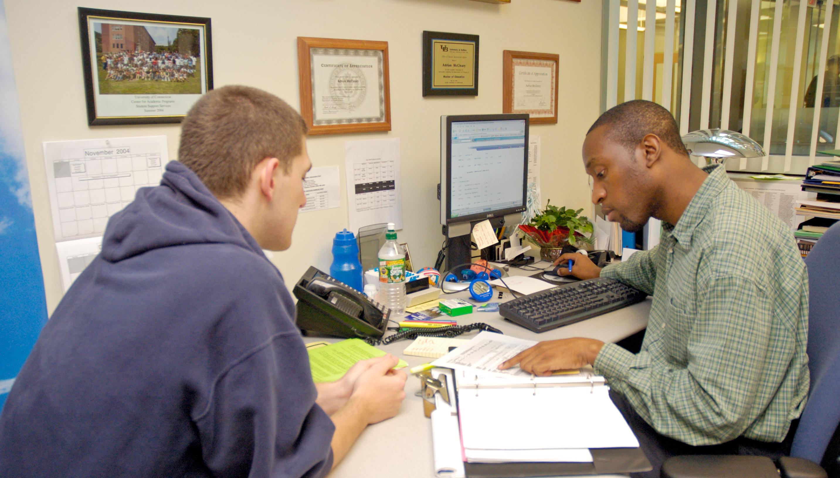 Advising students