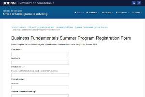 BFSP Registration